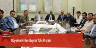 Büyükşehir'den Bayrak Yolu Projesi