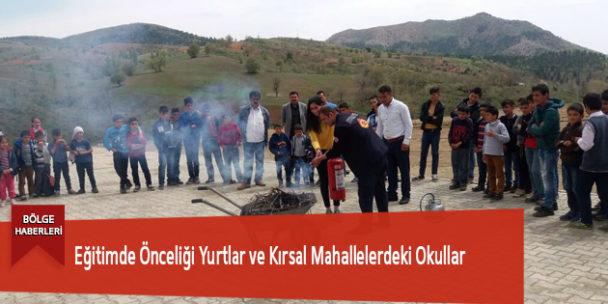 Eğitimde Önceliği Yurtlar ve Kırsal Mahallelerdeki Okullar