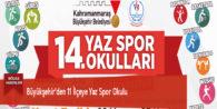 Büyükşehir'den 11 İlçeye Yaz Spor Okulu