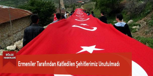 Ermeniler Tarafından Katledilen Şehitlerimiz Unutulmadı