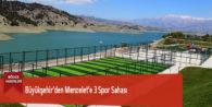 Büyükşehir'den Menzelet'e 3 Spor Sahası