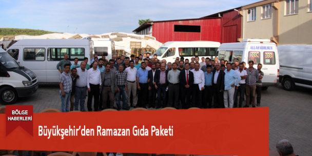 Büyükşehir'den Ramazan Gıda Paketi
