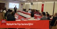 Büyükşehir'den Proje Hazırlama Eğitimi