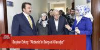 """Başkan Erkoç: """"Akdeniz'in Bahçesi Olacağız"""""""
