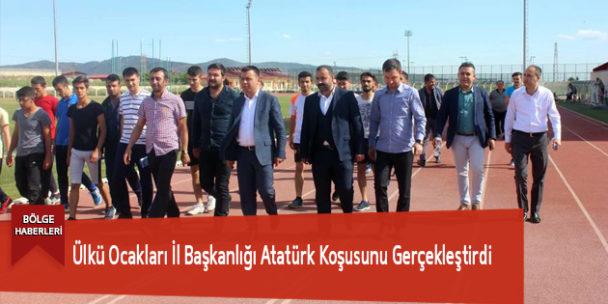 Ülkü Ocakları İl Başkanlığı Atatürk Koşusunu Gerçekleştirdi
