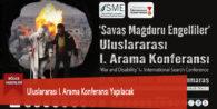 Uluslararası I. Arama Konferansı Yapılacak
