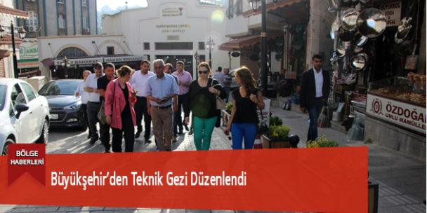 Büyükşehir'den Teknik Gezi Düzenlendi