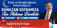 Büyükşehir'den Dev İftar Programı