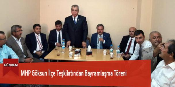 MHP İlçe Teşkilatından Bayramlaşma Töreni