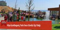 Aliya İzzetbegoviç Parkı Gece Gündüz İlgi Odağı