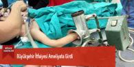 Büyükşehir İtfaiyesi Ameliyata Girdi