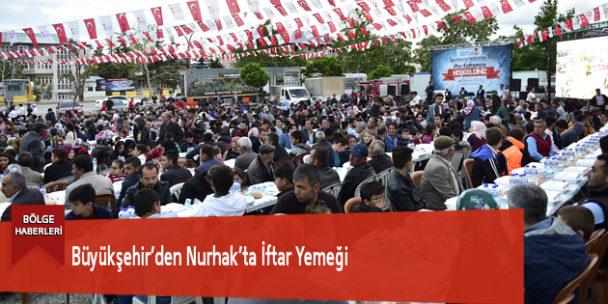 Büyükşehir'den Nurhak'ta İftar Yemeği