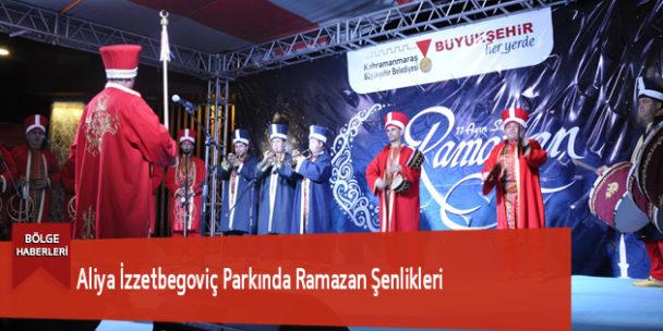 Aliya İzzetbegoviç Parkında Ramazan Şenlikleri
