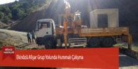 Ekinözü Alişar Grup Yolunda Hummalı Çalışma