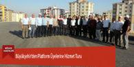 Büyükşehir'den Platform Üyelerine Hizmet Turu