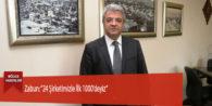 """Zabun: """"24 Şirketimizle İlk 1000'deyiz"""""""