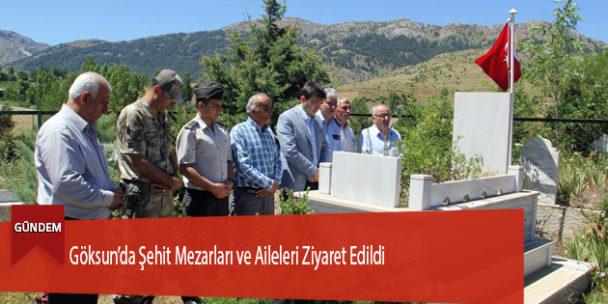 Şehit Mezarları ve Aileleri Ziyaret Edildi