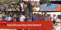 Kızılcık Şifalı Suyuna Yakışır Festival Düzenlendi