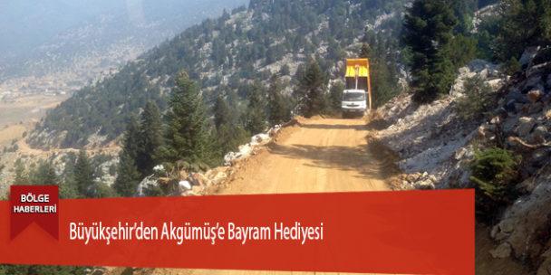 Büyükşehir'den Akgümüş'e Bayram Hediyesi