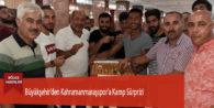Büyükşehir'den Kahramanmaraşspor'a Kamp Sürprizi
