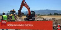 KASKİ'den Andırın Geben'e Tarihi Yatırım