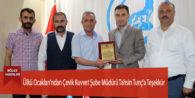 Ülkü Ocakları'ndan Çevik Kuvvet Şube Müdürü Tahsin Tunç'a Teşekkür