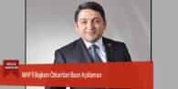 MHP İl Başkanı Özkan'dan Basın Açıklaması
