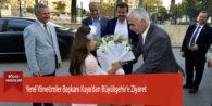 Yerel Yönetimler Başkanı Kaya'dan Büyükşehir'e Ziyaret
