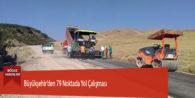 Büyükşehir'den 79 Noktada Yol Çalışması