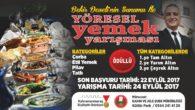 Büyükşehir'den Yöresel Yemek Yarışması