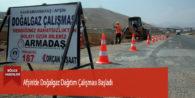 Afşin'de Doğalgaz Dağıtım Çalışması Başladı