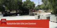 Büyükşehir'den Balıklı Göl'de Çevre Düzenlemesi