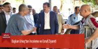 Başkan Erkoç'tan İnceleme ve Esnaf Ziyareti
