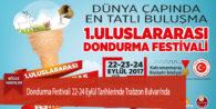 Dondurma Festivali 22-24 Eylül Tarihlerinde Trabzon Bulvarı'nda