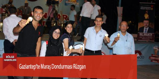 Gaziantep'te Maraş Dondurması Rüzgarı