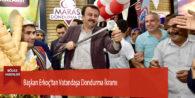Başkan Erkoç'tan Vatandaşa Dondurma İkramı
