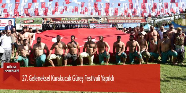 27. Geleneksel Karakucak Güreş Festivali Yapıldı