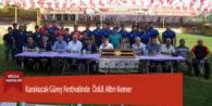 Karakucak Güreş Festivalinde  Ödül: Altın Kemer