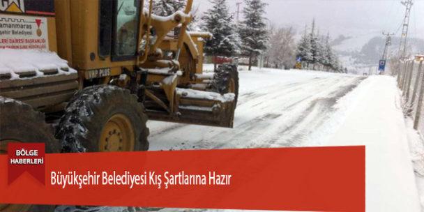 Büyükşehir Belediyesi Kış Şartlarına Hazır