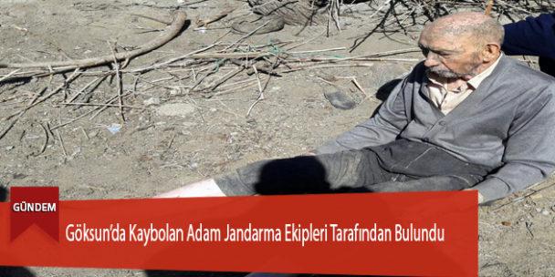 Göksun'da Kaybolan Adam Jandarma Ekipleri Tarafından Bulundu