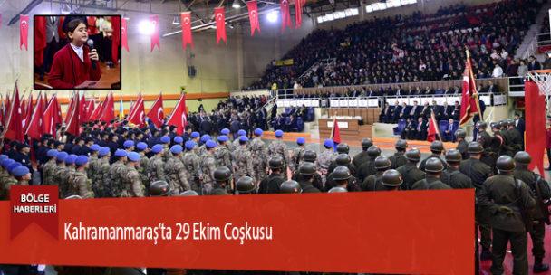 Kahramanmaraş'ta 29 Ekim Coşkusu