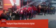 Büyükşehir İtfaiyesi Minik Kahramanları Ağırladı