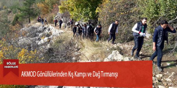 AKMOD Gönüllülerinden Kış Kampı ve Dağ Tırmanışı