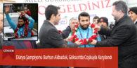 Dünya Şampiyonu Burhan Akbudak, Göksun'da Coşkuyla Karşılandı