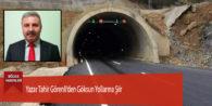 Yazar Tahir Görenli'den Göksun Yollarına Şiir