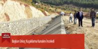 Başkan Erkoç Kuşaklama Kanalını İnceledi