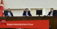 Büyükşehir Belediye Meclisi'nden 4. Oturum