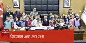 Öğrencilerden Başkan Erkoç'a Ziyaret
