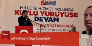 AK Parti Göksun 6. Olağan Kongresi Yapıldı