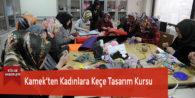 Kamek'ten Kadınlara Keçe Tasarım Kursu